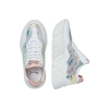 SCARPE SNEAKERS DONNA VOILE BLANCHE ORIGINALE MONSTER MESH PELLE P/E 2019 NEW