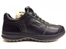 SCARPE CASUAL TREKKING UOMO GRISPORT ORIGINALE 8609NV PELLE SHOES A/I NEW