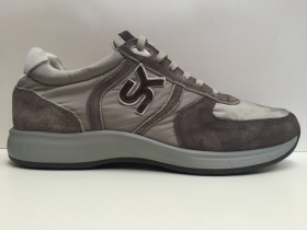 SCARPE SNEAKERS UOMO SKAP 2750 AIR TECHNOLOGY TORTORA PELLE SHOES PE NUOVO