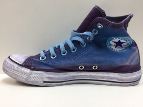 SCARPE SNEAKERS UNISEX CONVERSE ALL STAR CANVAS OVER DYED 1C190 TELA PE NUOVO
