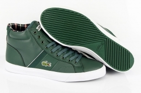 SCARPE SNEAKERS ALTE UOMO LACOSTE ORIGINALI FAIRLEAD 7-28SPA0092DG2 PELLE SHOES