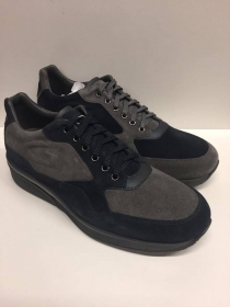 SCARPECASUAL UOMO GUARDIANI SPORT ORIGINALI GROVE SU71366D PELLE SHOES MAN AU/IN