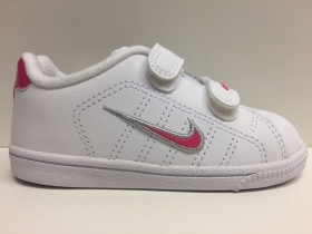 SCARPE SNEAKERS BIMBA NIKE ORIGINALI COURT TRADITION 2 354702 SHOES GIRL AI