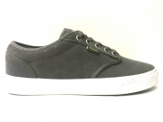 SCARPE SNEAKERS UNISEX VANS VN-0 15GGKS ATWOOD PEWTER MARSHMALLOW PELLE AI NUOVO