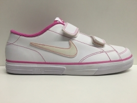 SCARPE SNEAKERS BAMBINA NIKE ORIGINALE CAPRI V LEATHER 327897 PELLE SHOES GIRL