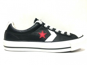 SCARPE SNEAKERS DONNA CONVERSE ORIGINALE STAR PLAYER CR MID 114351 PELLE NUOVO