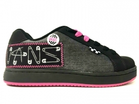 SCARPE SNEAKERS DONNA VANS WIDOW PLUS VN0 IPS0X5 BLACK PINK PELLE AI NUOVO
