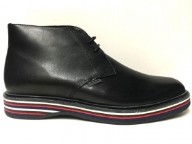SCARPE POLACCHINO UOMO BYBLOS ORIGINALE 9MBS81 NERO PELLE LEATHER SHOES MAN A/I