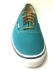 SCARPE SNEAKERS UOMO VANS VN-0 TSV8I6 AUTHENTIC GREEN BLU SIT TELA PE NUOVO