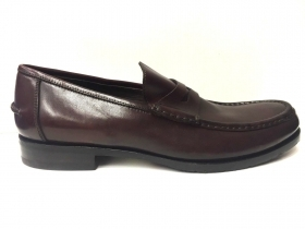 SCARPE CASUAL MOCASSINO UOMO CALPIERRE ORIGINALE B2218 PELLE SHOES A/I NEW