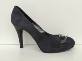 SCARPE DECOLTE' DONNA ANDREA MORELLI ORIGINALE 6500A 95 TACCO SHOES PELLE NEW
