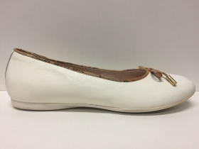 SCARPE DONNA ALVIERO MARTINI ORIGINAL 1° CLASSE JUNIOR FMC4072 LATTE PELLE SHOES