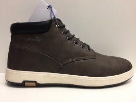 SCARPE UOMO ELLESSE ITALIA ORIGINALI EBONY EL628481 PELLE LEATHER SHOES ALTE A/I