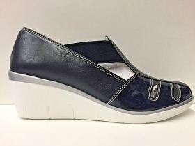 SCARPE MOCASSINO CASUAL DONNA CINZIA SOFT ORIGINAL PELLE 55BIS P/E 2018 NEW