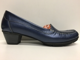 SCARPE CASUAL DONNA LION ORIGINALI LIONELLE 9500 BLU PERLA PELLE VITELLO SHOES