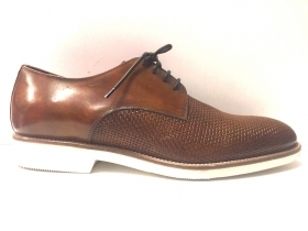 SCARPE CASUAL UOMO MARIO BRUNI 59789 PELLE SHOES PE NEW ORIGINALE