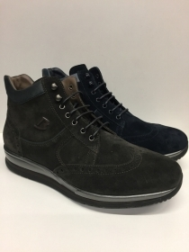 SCARPE CASUAL INGLESE UOMO BARRACUDA ORIGINALI BU2120B PELLE SHOES NUOVO