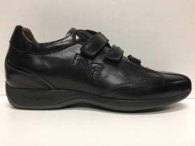 SCARPE CASUAL DONNA NERO GIARDINI ORIGINALI A005777D PELLE SHOES LEATHER ZEPPA
