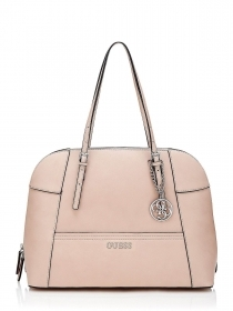 BORSA BORSE DONNA GUESS DELANEY HWRW4535070 RW453507 NUDE PELLE BAG ORIGINALE
