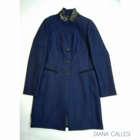 CAPPOTTO GIUBBOTTO DONNA DIANA GALLESI ORIGINALE 0109R101T9 LANA A/I 2017/18 NEW