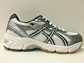 SCARPE SNEAKERS DONNA ASICS ORIGINALE GEL 1160 GS C038N PELLE PE NEW