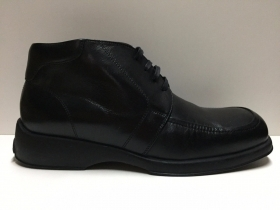 SCARPE CASUAL VALLEVERDE UOMO ORIGINALE 9790 NERO PELLE SHOES NEW