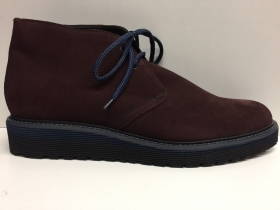 SCARPE UOMO BARRETT STARK-004 BOURGUNDY 519 PELLE SHOES LEATHER POLACCHINO