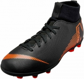 SCARPE SNEAKERS CALCIO UOMO NIKE ORIGINAL SUPERFLY 6 CLUB FG/MG ECO PELLE AI
