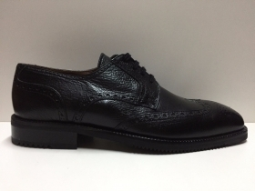 SCARPE CASUAL INGLESE VALLEVERDE UOMO ORIGINALE 9018 PELLE NERO SHOES NEW