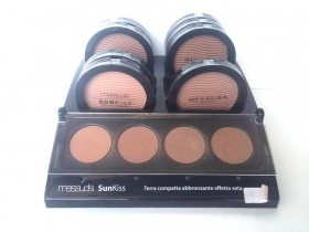 TERRA COMPATTA DONNA MESAUDA MILANO ORIGINALE SUNKISS BRONZE MAKE UP TRUCCO 02
